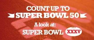 Count Up to Super Bowl 50: A Look Back at Super Bowl XXXV Image