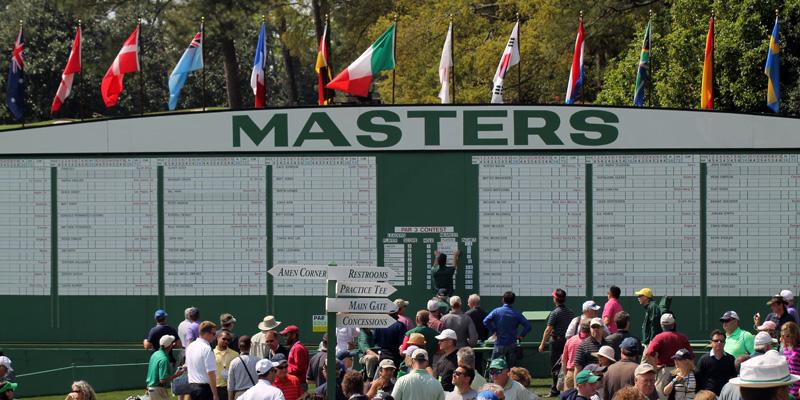 2017 Masters in Augusta, Georgia