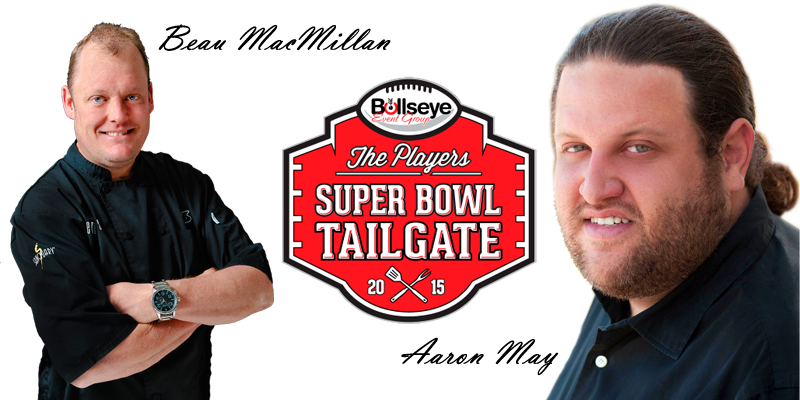 2015 Players Tailgate Chefs Beau MacMillan and Aaron May