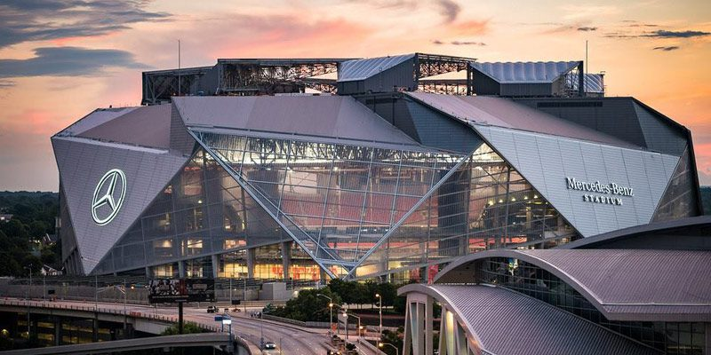 2019 super bowl tickets in atlanta super bowl 53 for Hotels close to mercedes benz stadium atlanta ga