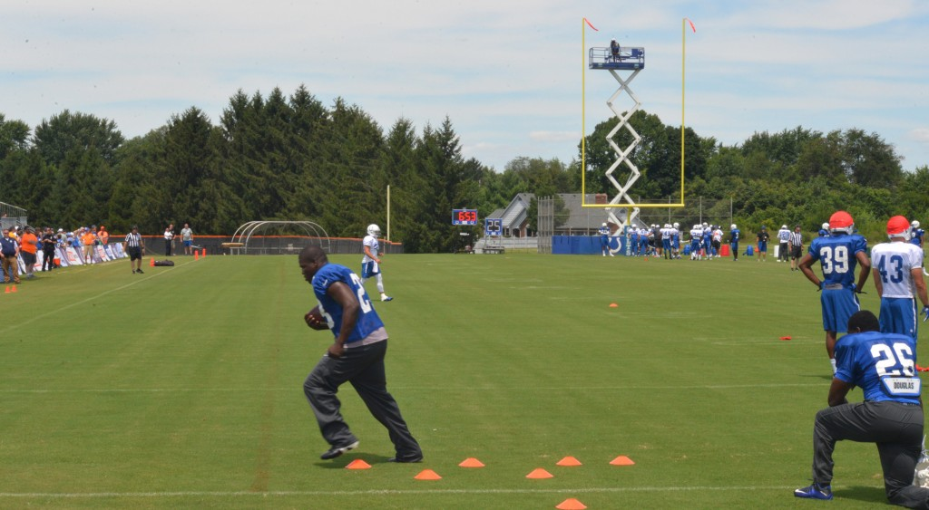 Frank Gore at Indianapolis Colts Training Camp