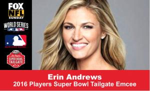Erin Andrews Emcee