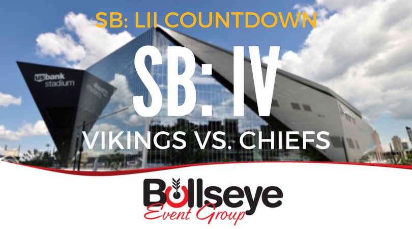 Super Bowl LII Minneapolis Countdown