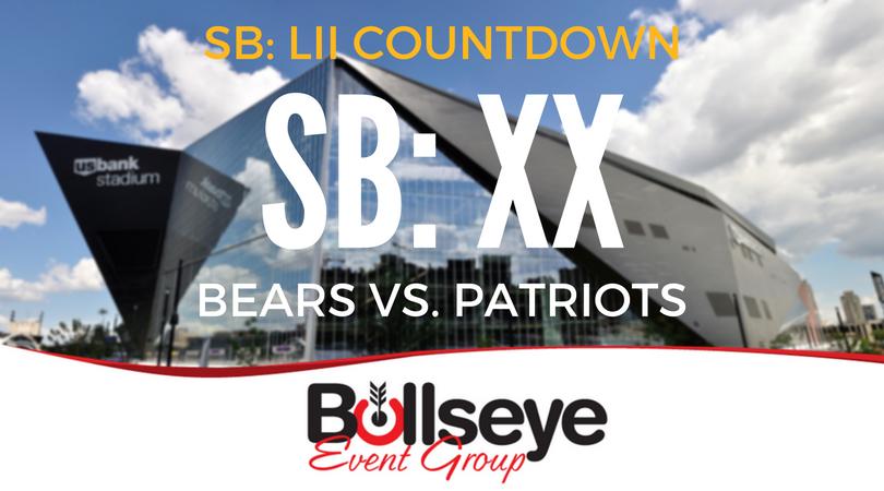 2018 Super Bowl 52 Countdown