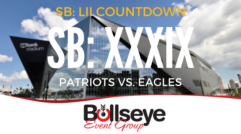 2018 Super Bowl Countdown: Super Bowl XXXIX