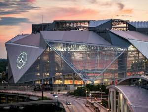 Super Bowl 53 will be played at Mercedes-Benz Stadium in Atlanta, Georgia in February 2019.