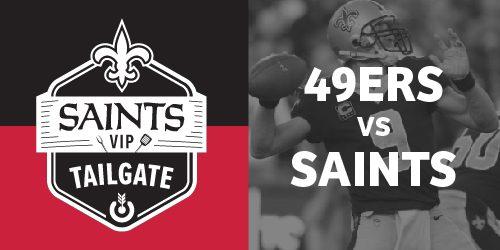 Saints Vip Tailgate
